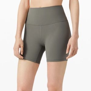 """Lululemon Align Short 6"""" Grey Sage size 2"""